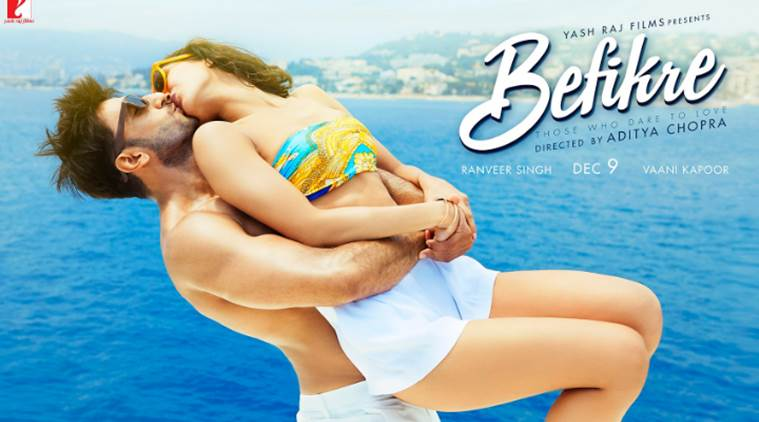 One of the posters for 'Befikre'.
