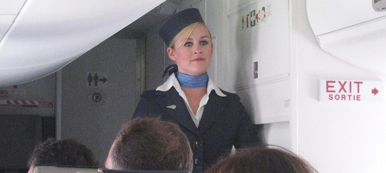 What flight attendants really think about when they first greet you