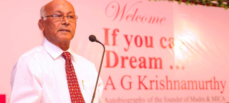 They called him 'AGK Sir': AG Krishnamurthy (1942-2016), the man behind Mudra and MICA