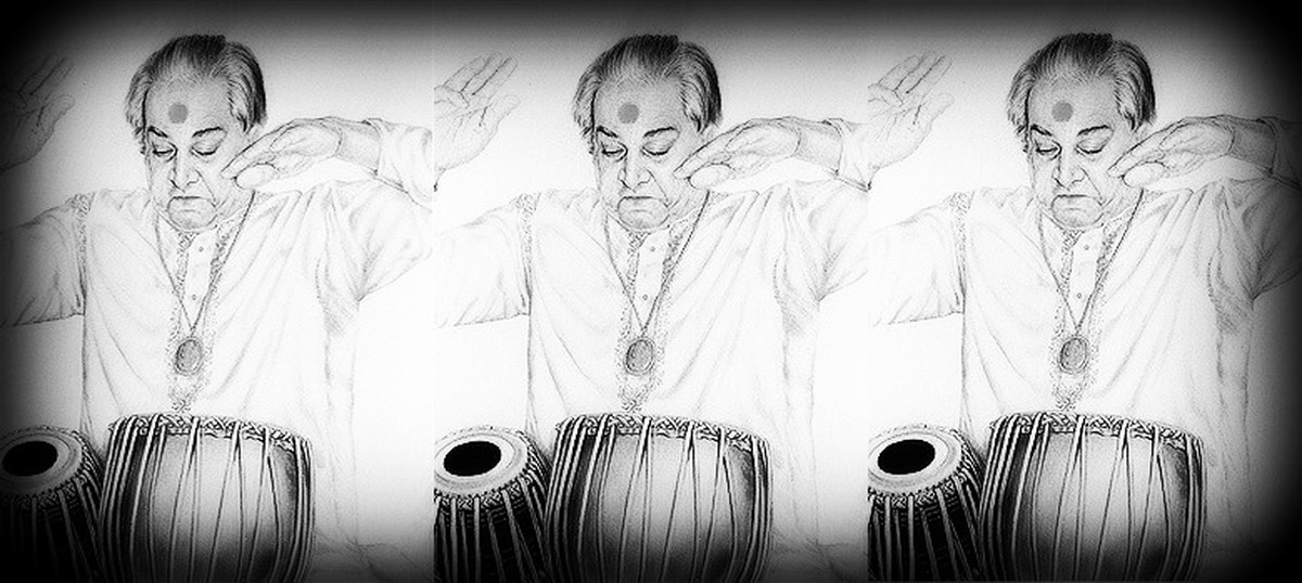 Listen: Maestros of the resonant Banaras style of tabla playing