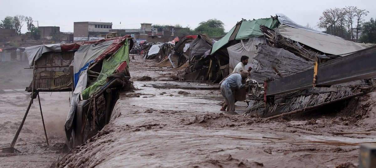 In photos: 71 dead in Pakistan and hundreds of homes washed away after flash floods
