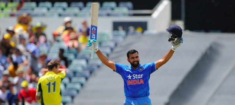 1st ODI: India reach 309 against Australia thanks to Rohit Sharma special