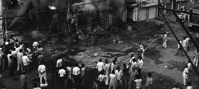 'RSS was silent during the 1984 riots. At places, it was implicated in the violence'