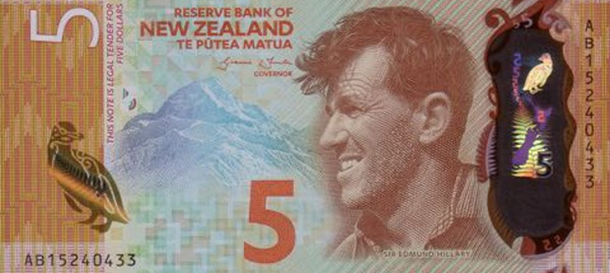 Featuring Sir Edmund Hillary and a colour-changing penguin, NZ has the world's best banknote