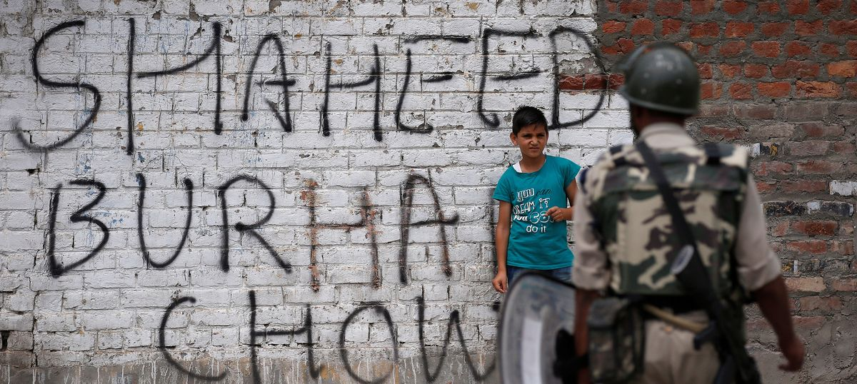One killed in renewed fighting in Kashmir's Pulwama, hours after Rajnath Singh reaches Srinagar