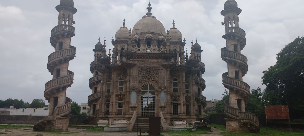 Photos: In Gujarat, Junagadh's stunningly beautiful monuments are crumbling with neglect