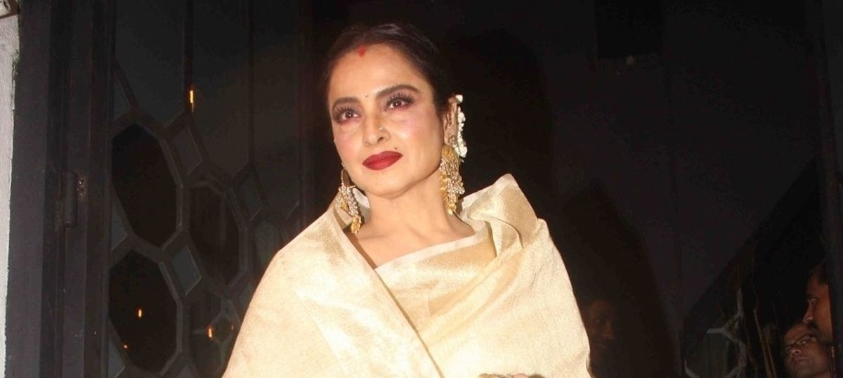 Film star rekha wedding
