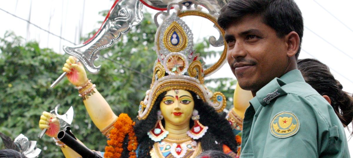 Bangladesh's Pujo paradox: Joyous celebrations under the shadow of the gun