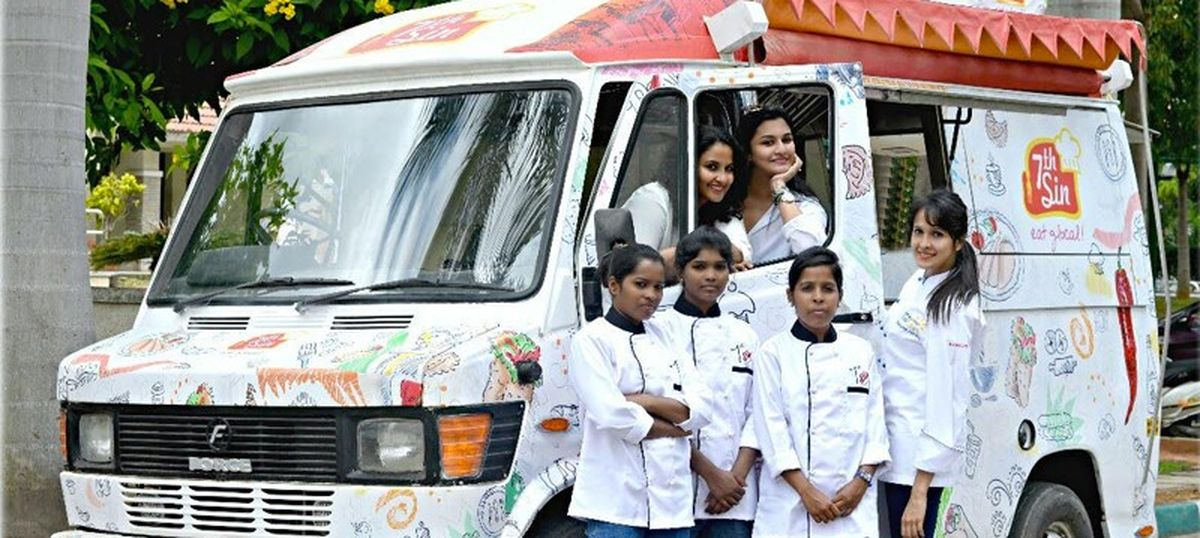 Meet the woman driving Asia's first all-female food truck in Bengaluru