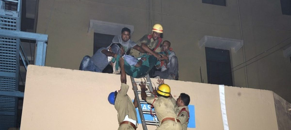 Odisha hospital fire: Human rights commission issues notice to state government