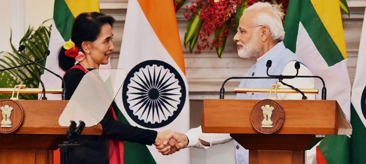 Your success in establishing democracy in Myanmar is inspiring, Narendra Modi tells Suu Kyi