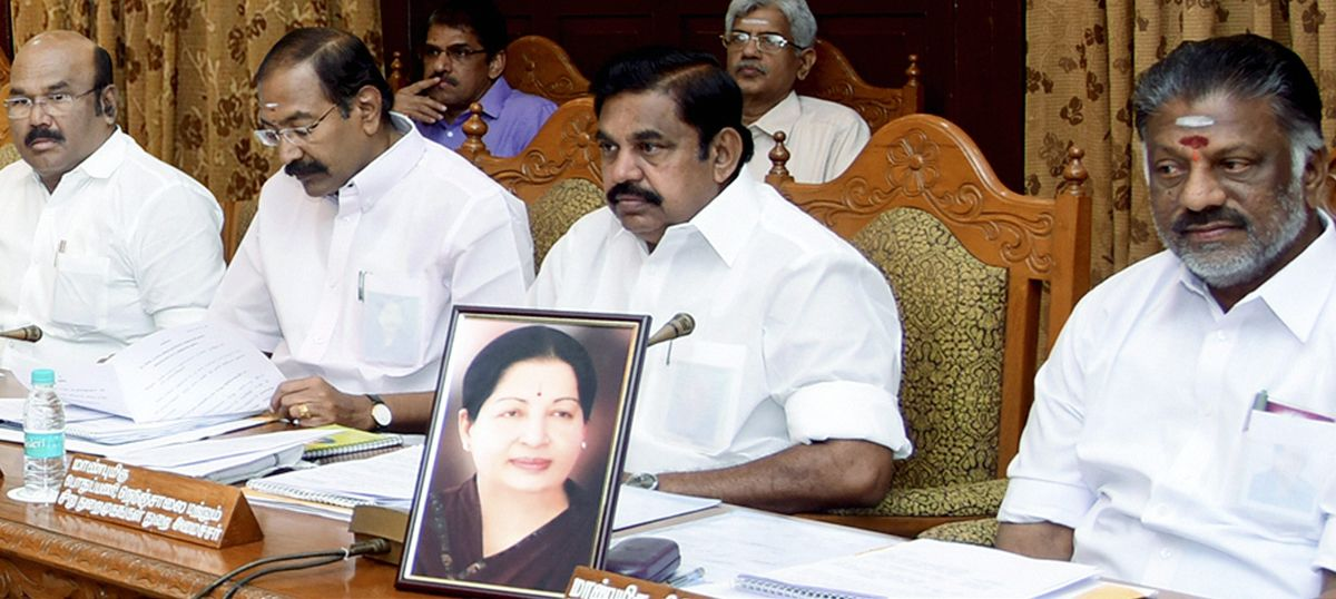 Cauvery row discussed at length during Panneerselvam-headed Tamil Nadu Cabinet meeting