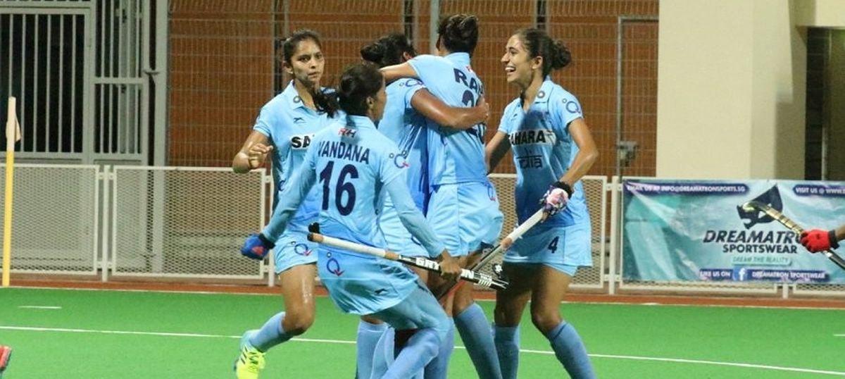 Indian women hockey team won world cup