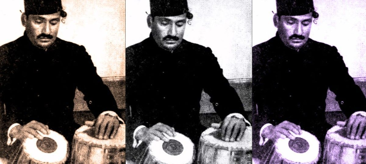 Listen: Habibuddin Khan of the Ajrada gharana displays his mastery (and wit) with the tabla
