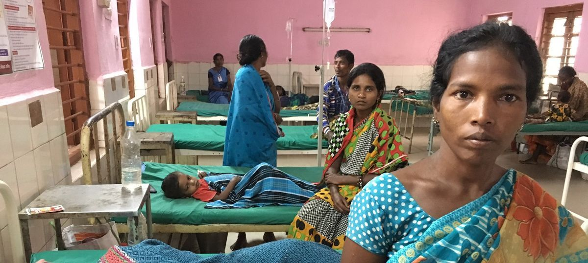 One government hospital with nine doctors for 600,000 people – and nearly 100 children dead