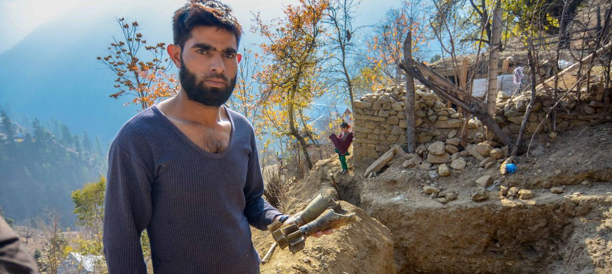 As guns boom on the LoC, Kashmir's frontier villages are desperately digging bunkers