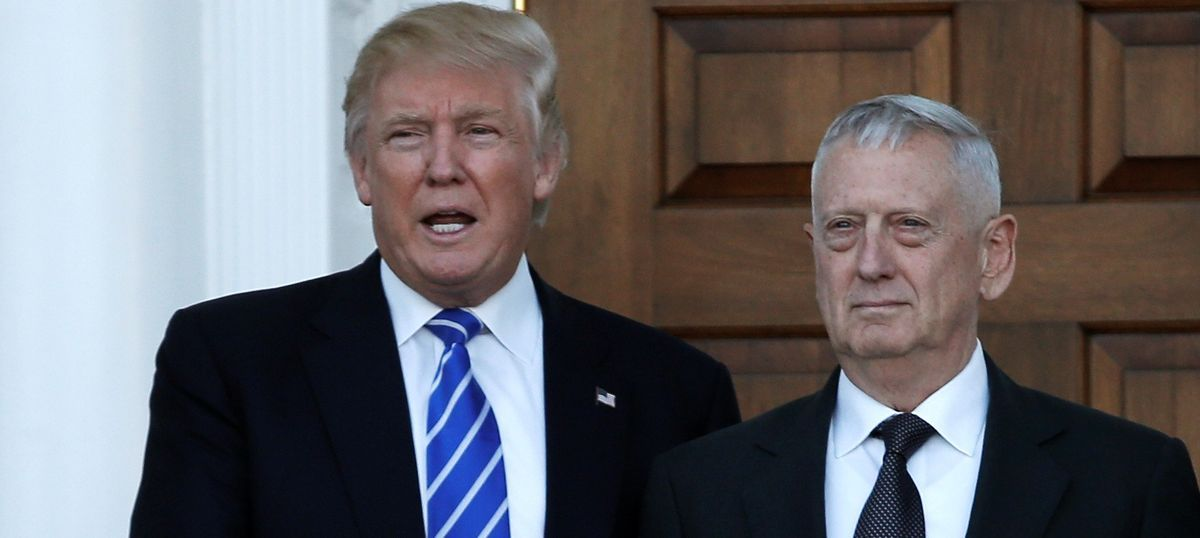 Donald Trump names General James 'Mad Dog' Mattis his defence secretary