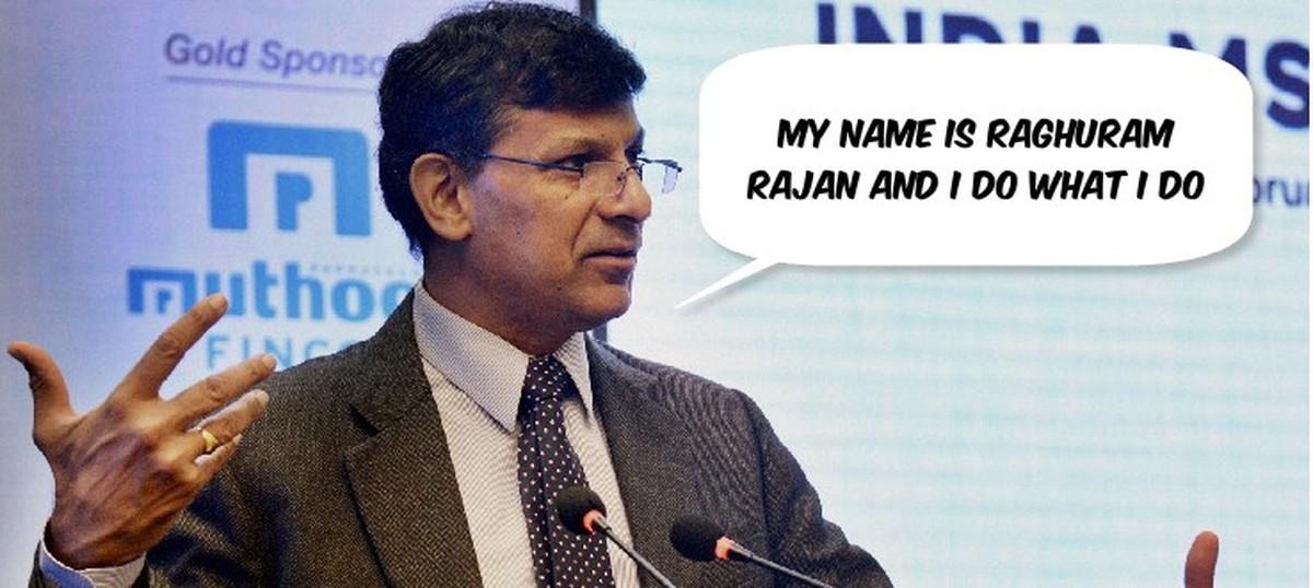 raghuram rajan thesis