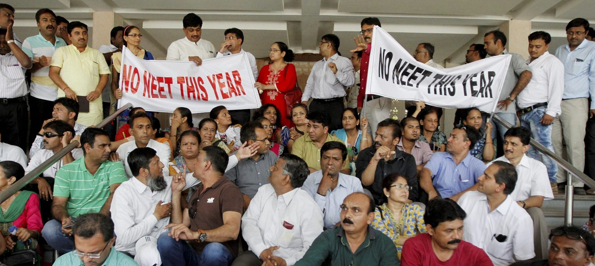 'Confusion must end': Centre's ordinance on NEET elicits mixed responses from medical aspirants