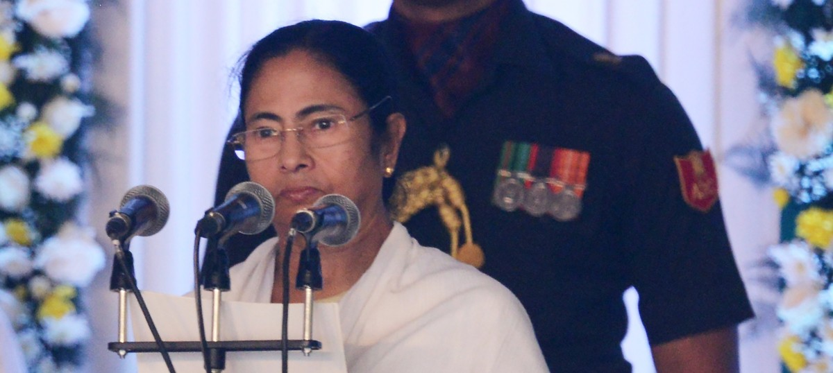 I am vocal against demonetisation and thus this 'military coup', says Mamata Banerjee