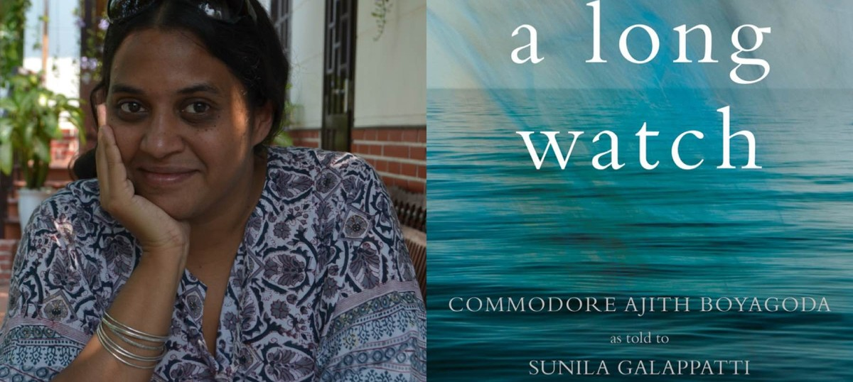 Interview With :   Sunila Galappatti , Writer  talks about the making of Commodore Ajith Boyagoda's extraordinary