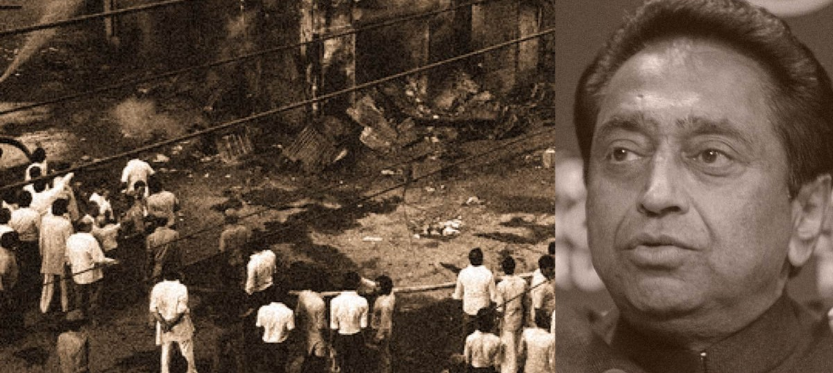 What was Kamal Nath, Congress's new Punjab head, doing with mobs during the 1984 anti-Sikh riot?