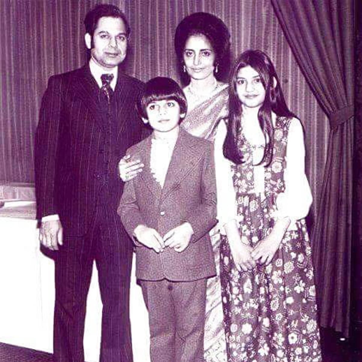 Zoheb and Nazia Hasan with their parents, Basir and Muneeza Hasan. —Photo provided by Zoheb Hasan