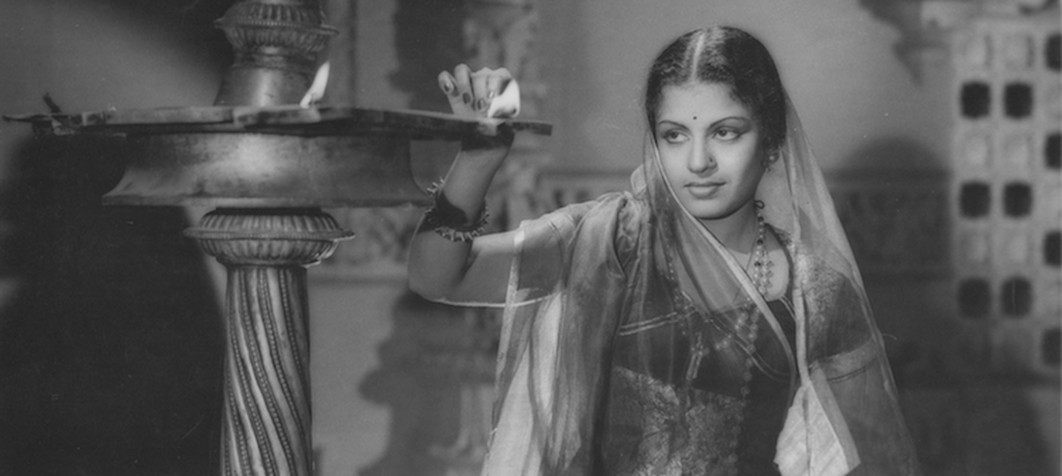 Image credit: MS Subbalakshmi as Meera courtesy West Virginia State Archives, USA