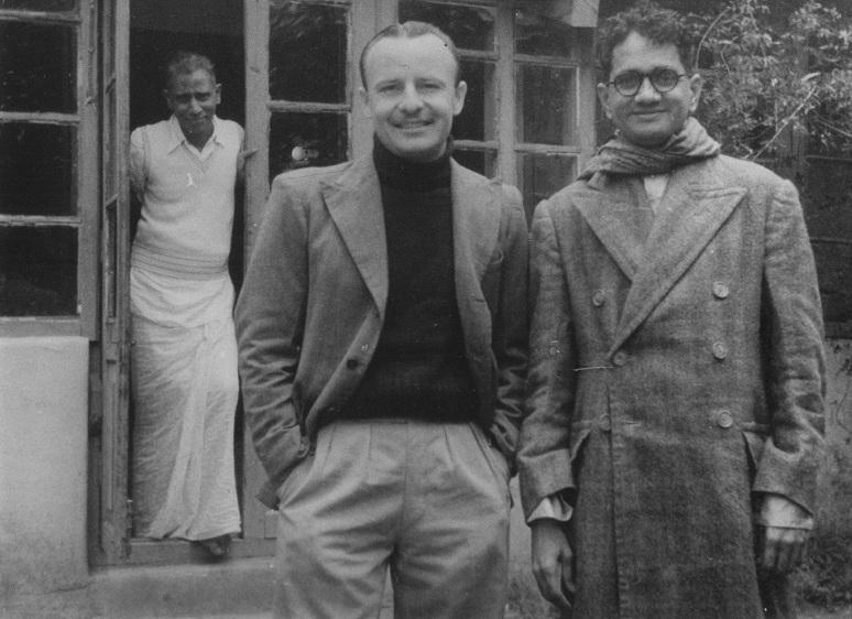 Ellis R Dungan and T Sadasivam. Courtesy Radha Viswanathan.