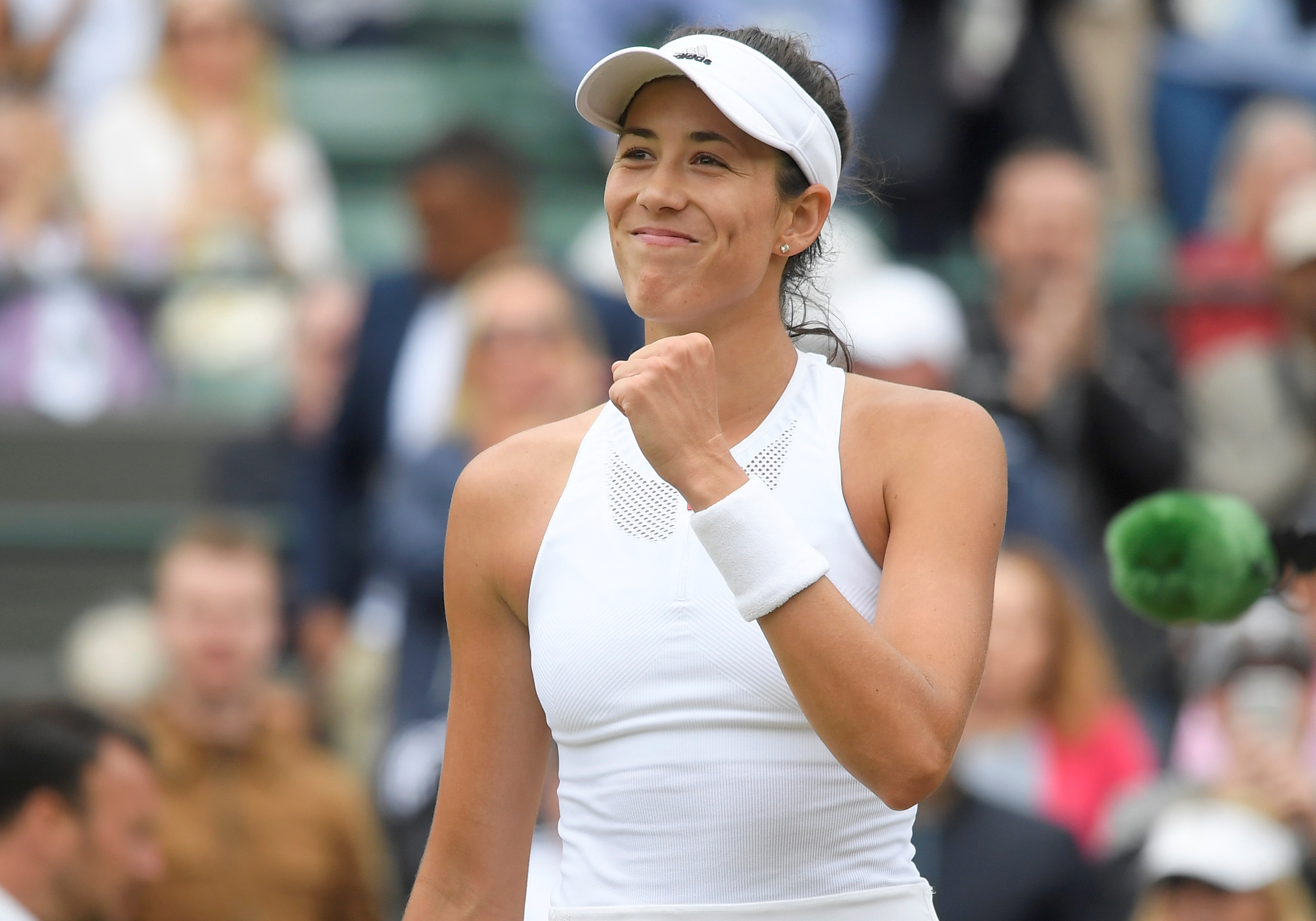 Garbine Muguruza dropped just one set on her way to the Wimbledon title last year