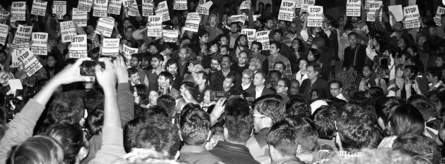 A reminder: JNU has always been a hotbed of radical protest