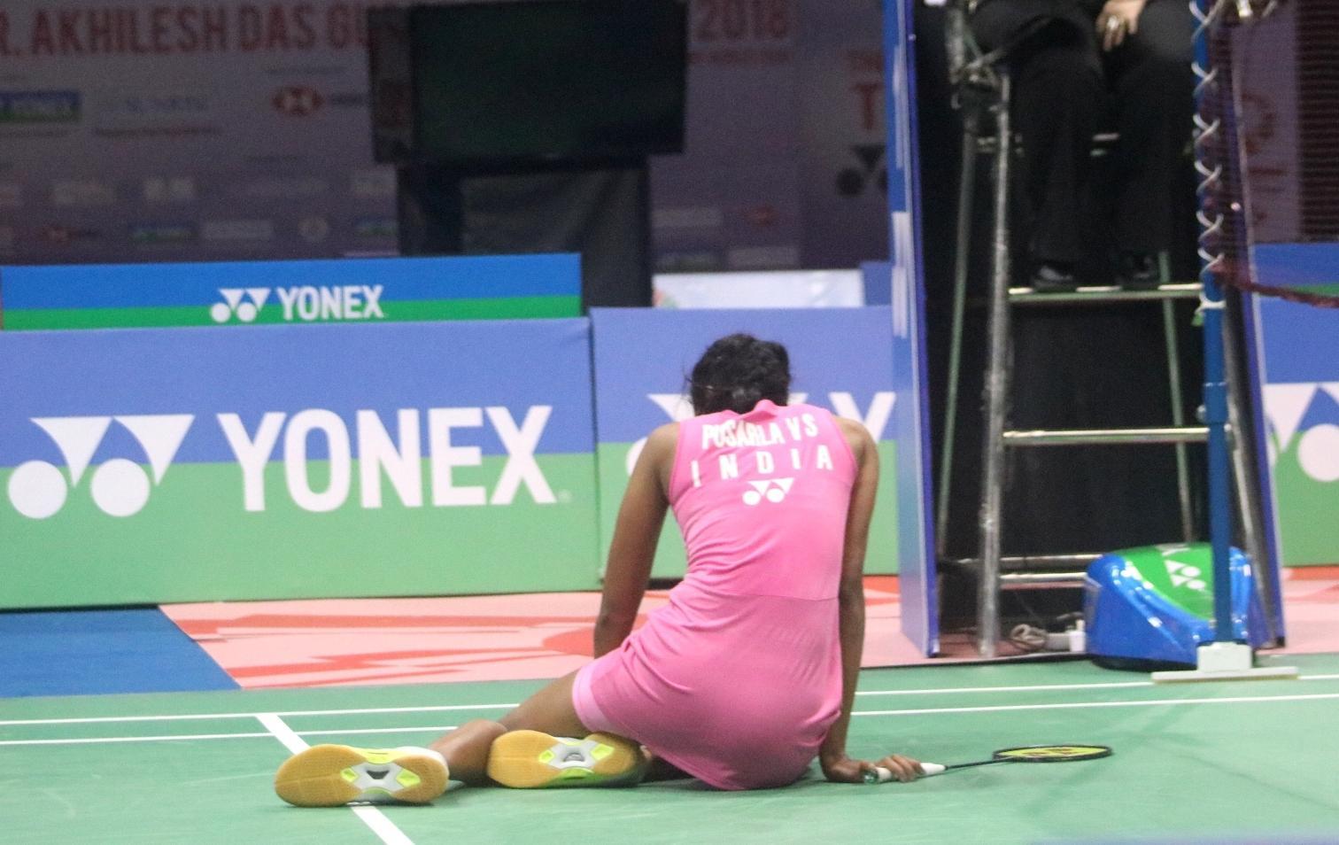 Zhang beats home favourite Sindhu in BWF India Open women's singles final