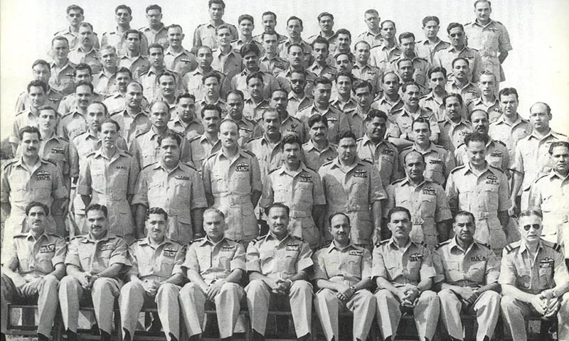 Air HQ staff circa 1961-Turowicz seated extreme right.