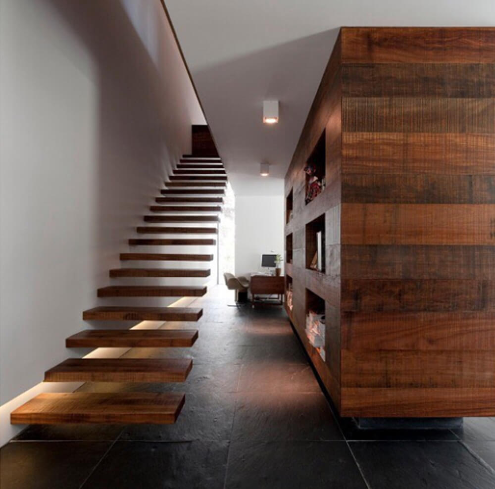 Floating staircase (Image credit: Design Milk on Flickr.com)