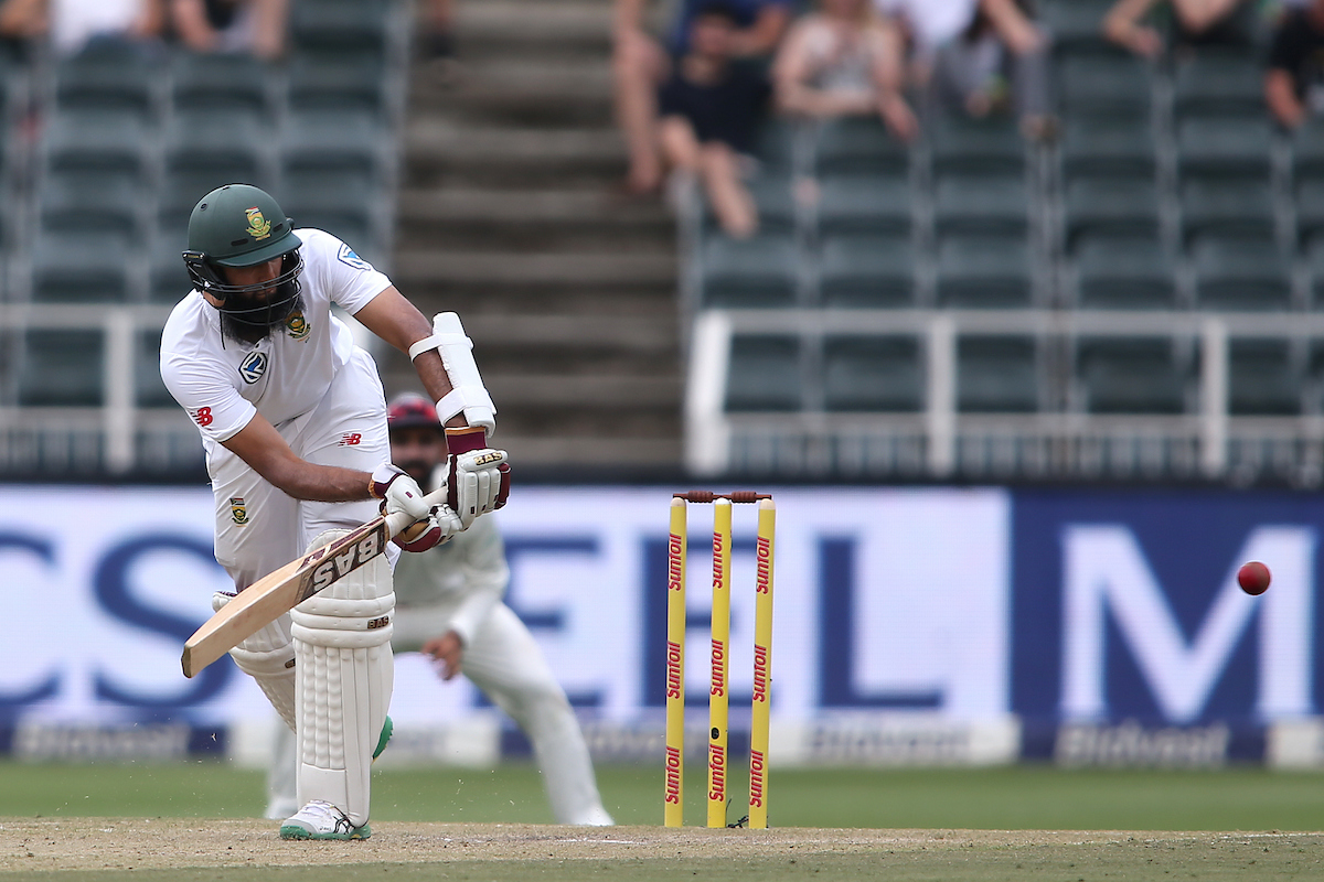#SAvIND Elgar and Amla share magnificent stand at Wanderers