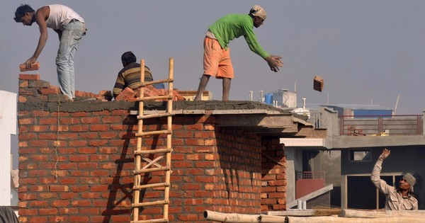 India's construction  slowdown threatens to increase poverty, Here's why? - Scroll.in