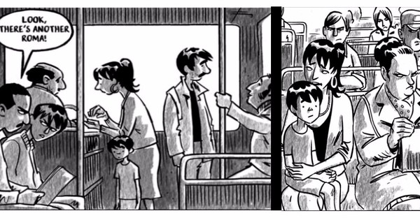 Graphic novel: The story of the Roma, Europe's most stigmatised ethnic group
