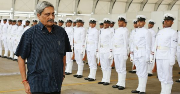 Anyone speaking against the country must be taught a lesson, says Manohar Parrikar
