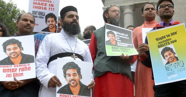 Inquiry panel set up by HRD Ministry concludes Rohith Vemula was not a Dalit