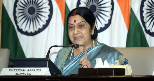 Whole of Jammu and Kashmir belongs to India, Sushma Swaraj tells Pakistan