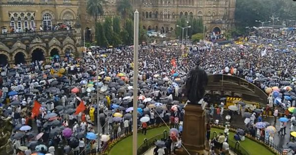 How Dalit anger against the government found expression in the Ambedkar Bhavan and Una protests