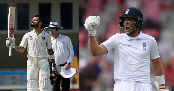 With two double centuries, the batting rivalry between Virat Kohli and Joe Root has escalated