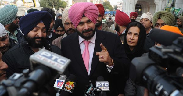 Navjot Singh Sidhu may be angry with BJP – but he hasn't left it yet (and didn't mention AAP)