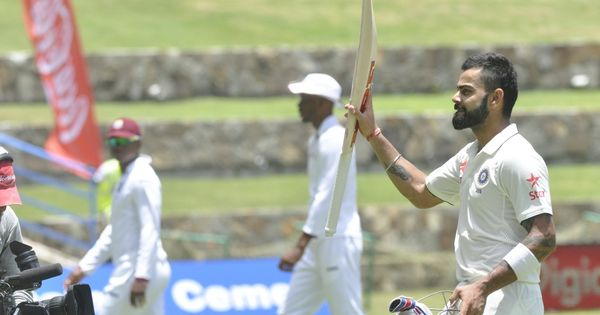 Thanks to Virat Kohli, India converted a tricky opening Test into a dominant innings triumph