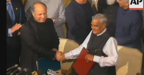 Watch Atal Bihari Vajpayee say Pakistanis are kind and hospitable