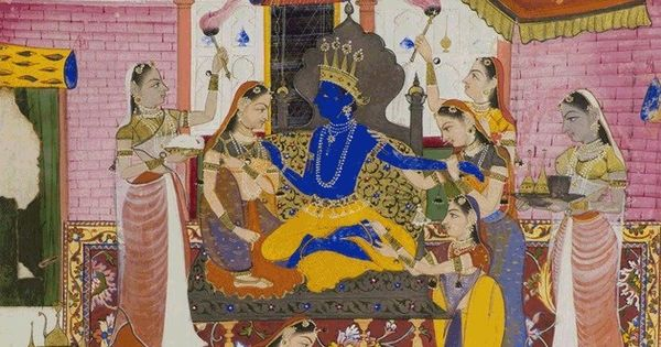 How Krishna was transformed from a tribal deity to a supreme god in the Puranic tradition