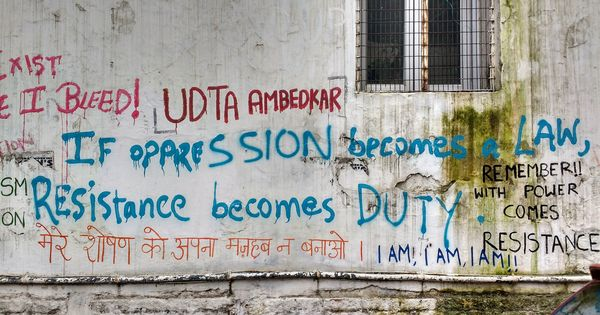 In pictures: The strange case of disappearing Kashmir and Bastar graffiti at a Delhi college