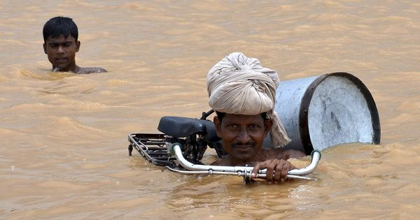Bihar is suffering devastating floods – and they're completely man-made