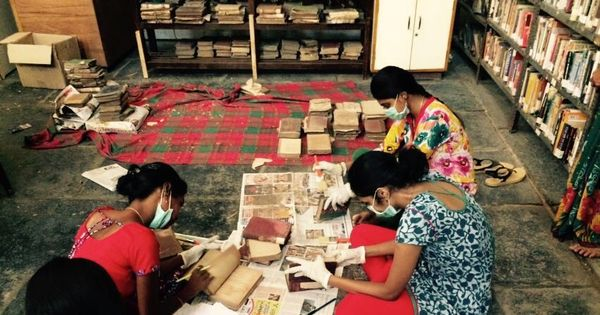 A half-forgotten library from colonial-era Chennai is on the long road to restoration