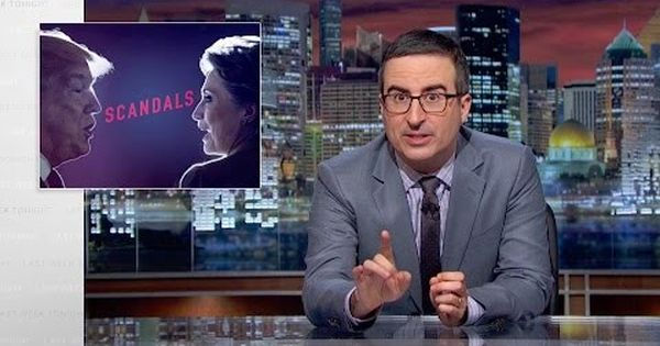 Watch: John Oliver lists the scandals of the US presidential candidates. No, it doesn't look good